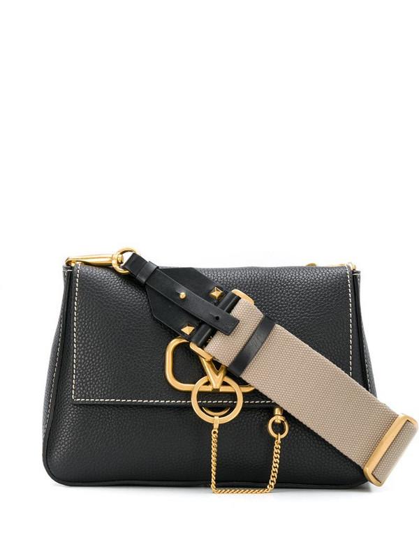 Valentino Garavani VRING shoulder bag in black