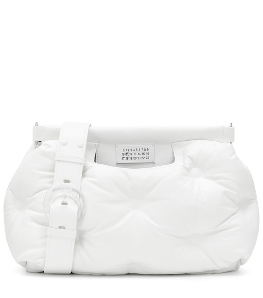 Maison Margiela Glam Slam Medium shoulder bag in white