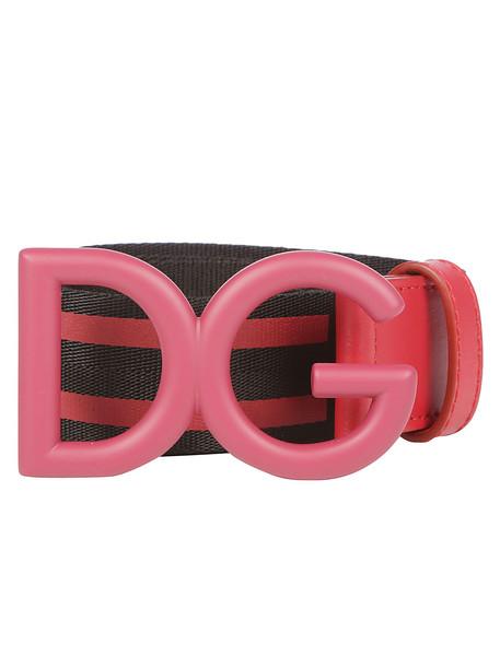Dolce & Gabbana Dolce E Gabbana Belt in nero