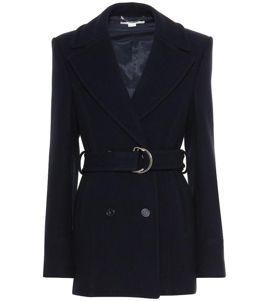 Stella McCartney Wool jacket in blue
