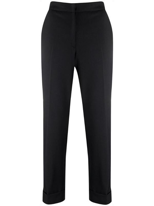 Pt01 Andrea slim trousers in black