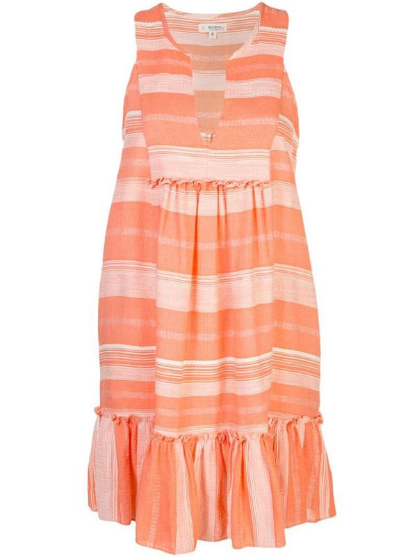 lemlem Birtukan bib dress in orange