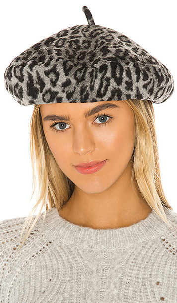Brixton Audrey Beret in Gray