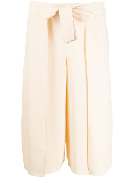 See by Chloé cropped tailored trousers in neutrals
