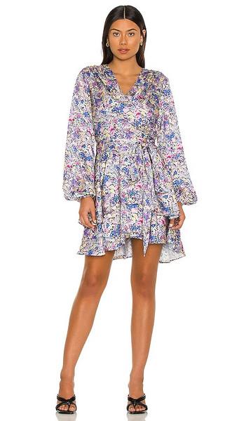 ELLIATT Catalina Dress in Lavender in multi