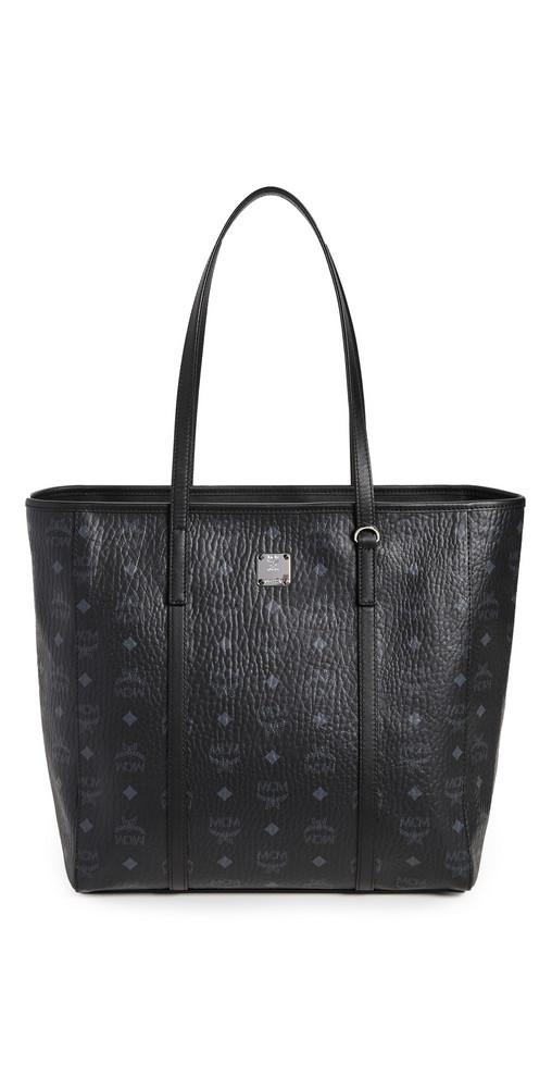 MCM Toni Shopper Bag in black
