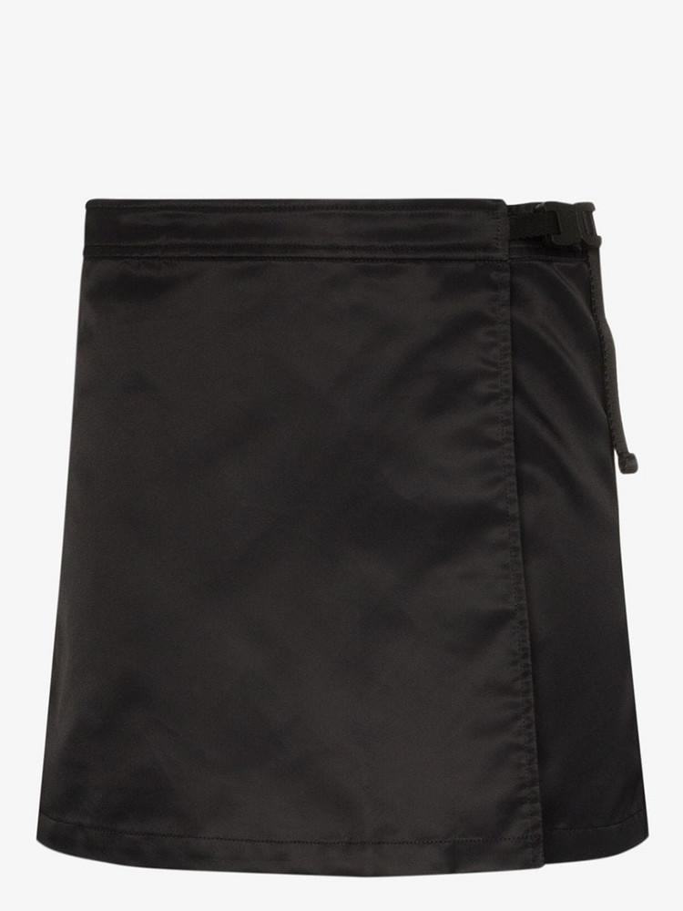1017 ALYX 9SM wrap-front mini skirt in black