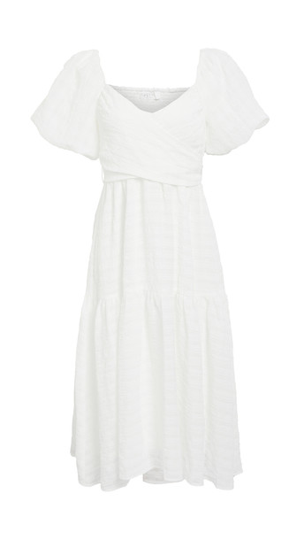 ASTR the Label Sonnet Dress in white