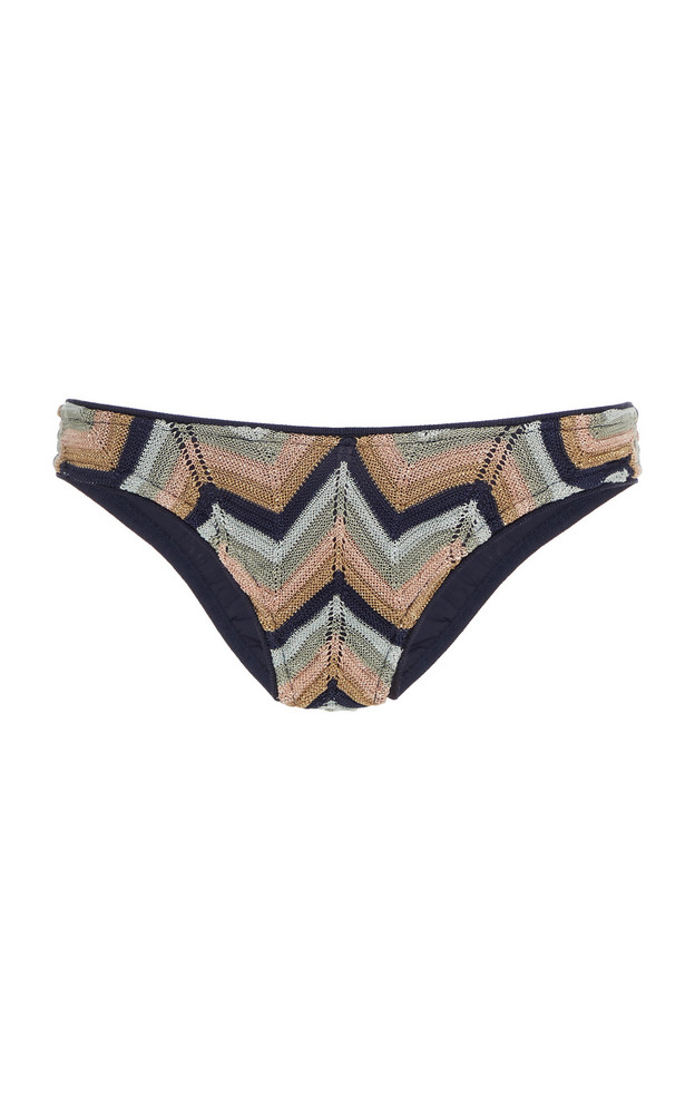 Suboo Bella Knitted Bikini Briefs in multi