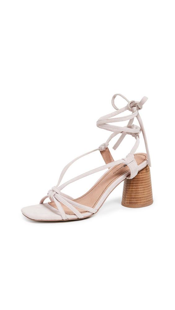 Matiko Nina Strappy Sandals in blush