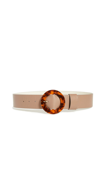Lizzie Fortunato Louise Belt in taupe