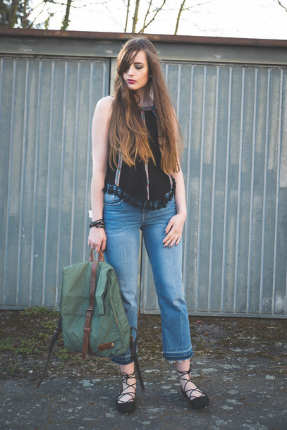 andy sparkles blogger top jeans shoes jewels