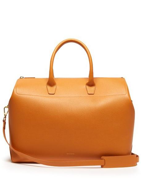 Mansur Gavriel - Travel Large Leather Bag - Womens - Yellow Multi