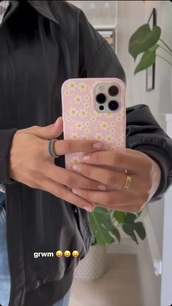 phone cover,pink,flowers