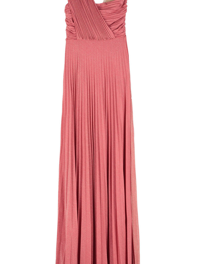 Elisabetta Franchi Celyn B. Elisabetta Franchi Celyn B. Lurex Jersey Long Dress in pink