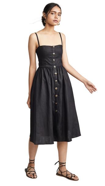Reformation Tori Dress in black