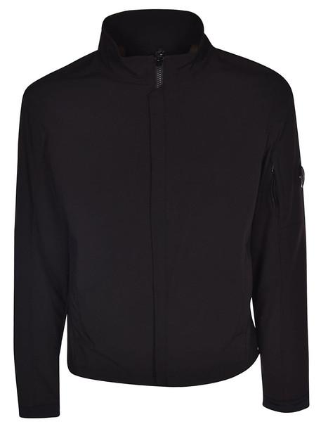 C.p. Company Zipped Jacket in black
