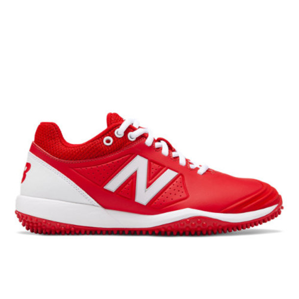 New Balance Fusev2 Turf Women's US Site Exclusions Shoes - Red/White (STFUSER2)