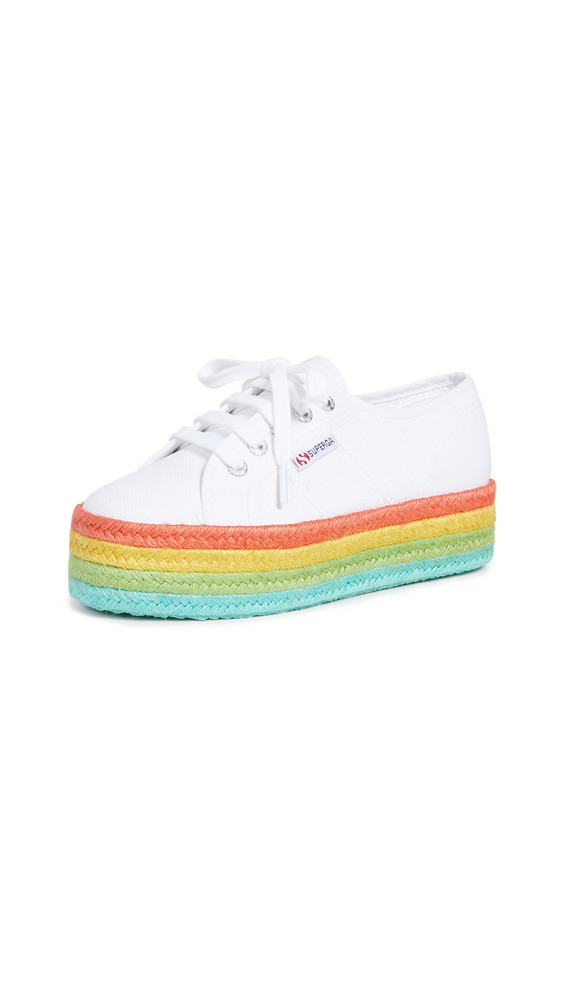 Superga 2790 Cotropew Sneakers in white
