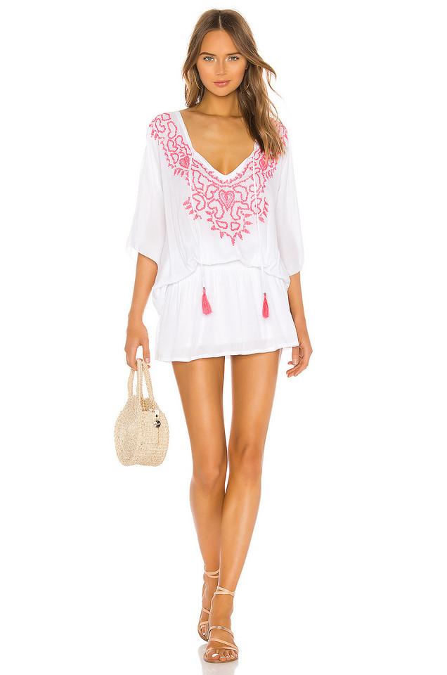 Tiare Hawaii Margarita Dress in white