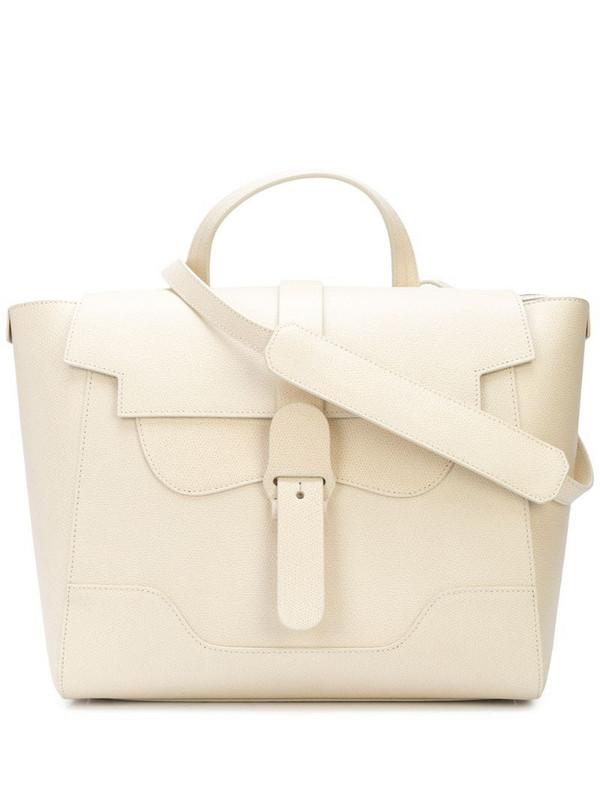 Senreve Maestra shoulder bag in white
