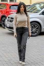top,pants,celebrity,kourtney kardashian,fall outfits
