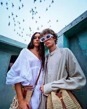 sunglasses,bag