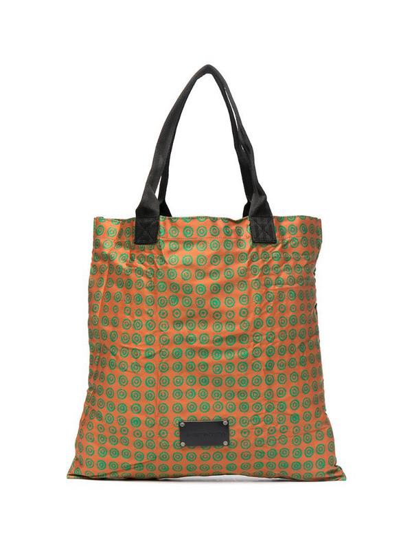 10 CORSO COMO geometric print tote bag in green