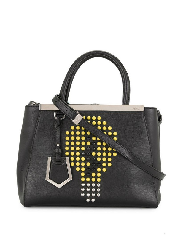 Fendi Pre-Owned Peekaboo two-way bag in black