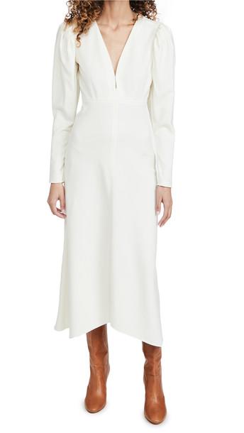 Isabel Marant Silabi Dress in white