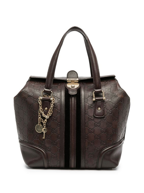 Gucci Pre-Owned Guccissima Doctor tote bag in brown