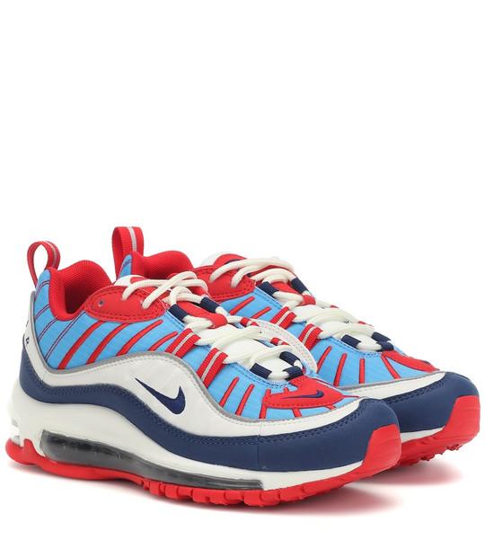 Nike Air Max 98 sneakers in blue