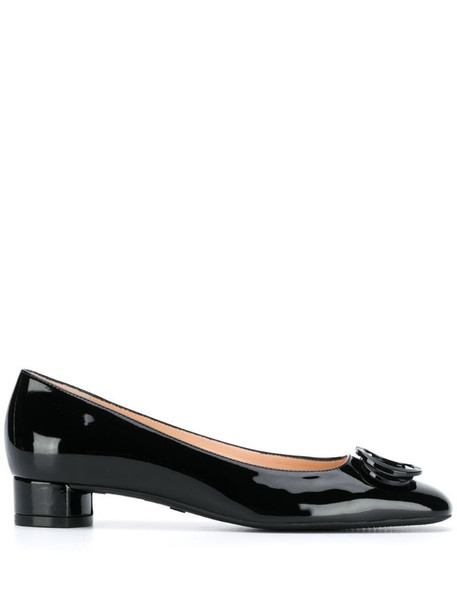 Stuart Weitzman Anicia low-heel pumps in black