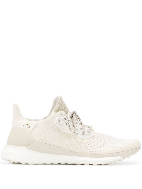adidas by Pharrell Williams Solar Hu PRD sneakers in neutrals