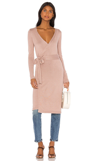 Lovers + Friends Lovers + Friends Amara Wrap Sweater in Taupe