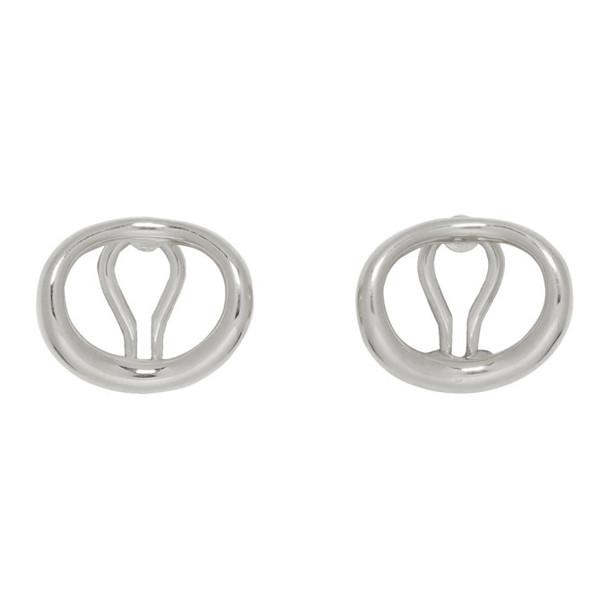 Charlotte Chesnais Silver Naho Clip-On Earrings