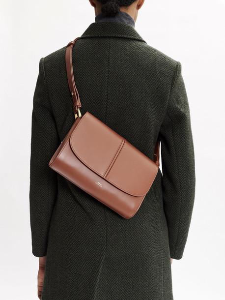 A.P.C. Betty Horizon Leather Shoulder Bag