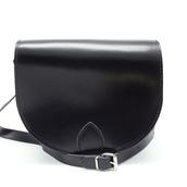 bag,leather saddle bag black,classic saddle bag,womens black crossbody bag,black bag,crossbody leather bag