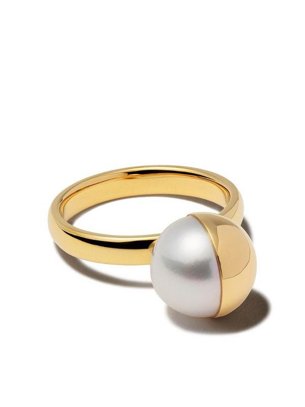 TASAKI 18kt yellow gold Arlequin ring