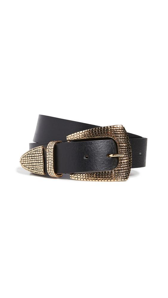 B-Low The Belt Pauline Belt in black / gold