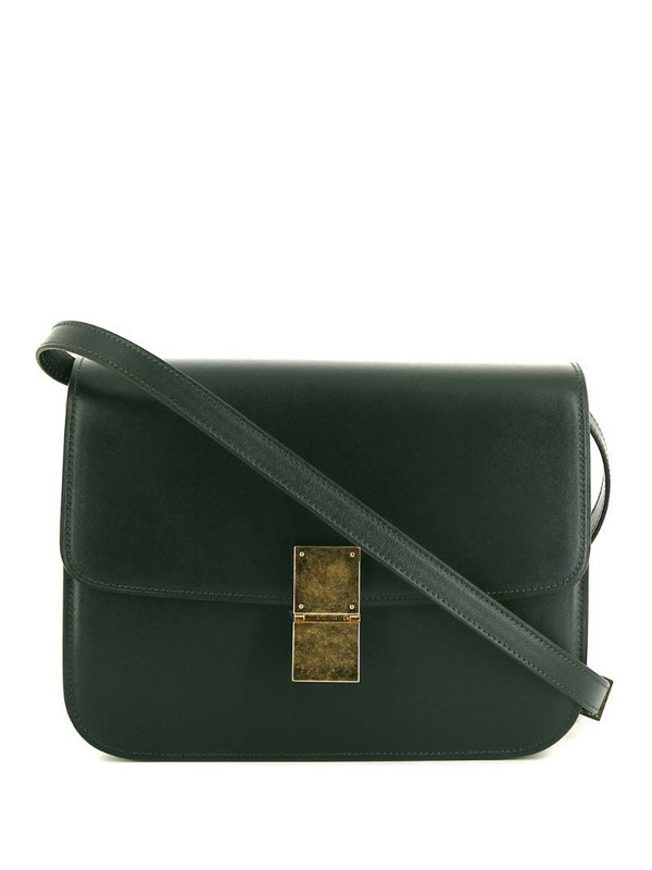Céline Pre-Owned pre-owned Classic Box shoulder bag in green