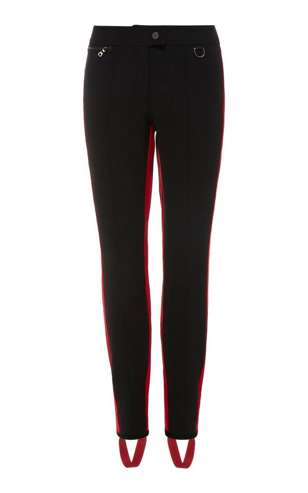 Erin Snow Zuma Striped Shell Ski Pants Size: 4 in black