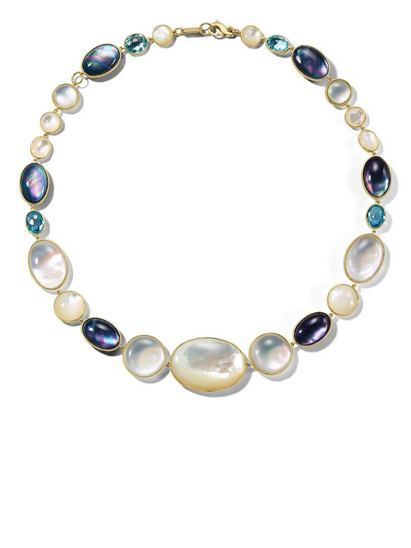 IPPOLITA 18kt yellow gold Luce all-stone short necklace