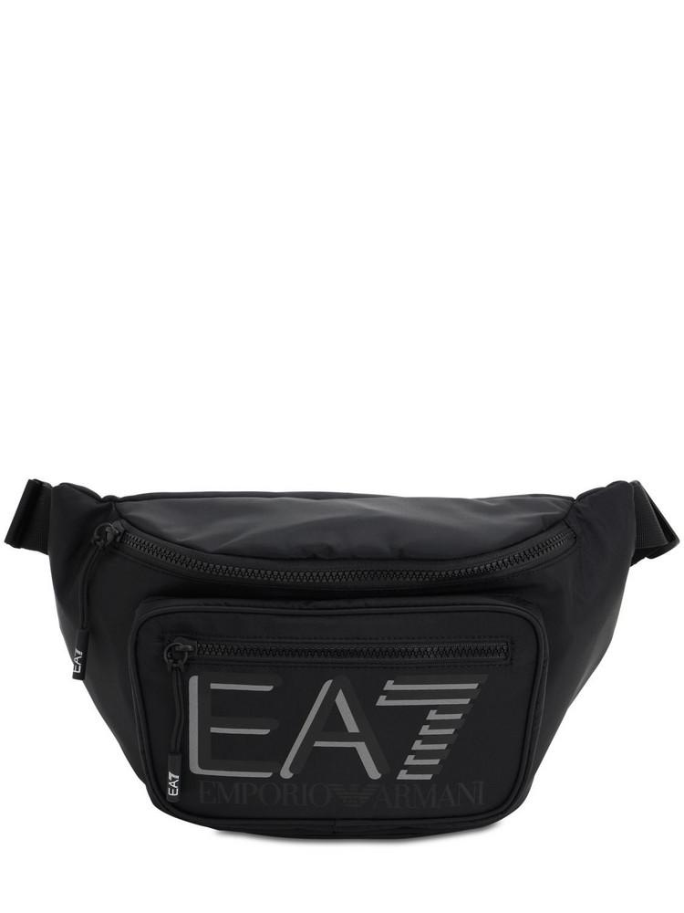 EA7 EMPORIO ARMANI 3l Train Visibility Belt Bag in black
