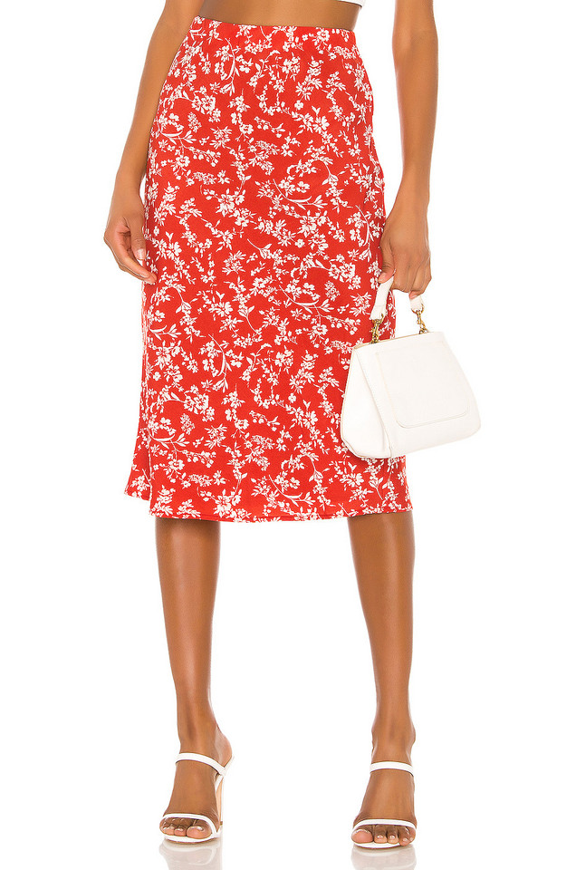 HEARTLOOM Ryder Skirt in red