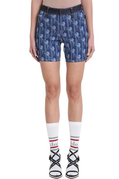 Chloé Chloé Mid-thigh Shorts in blue