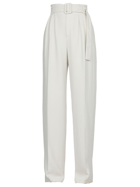 Off-White Viscose Trousers