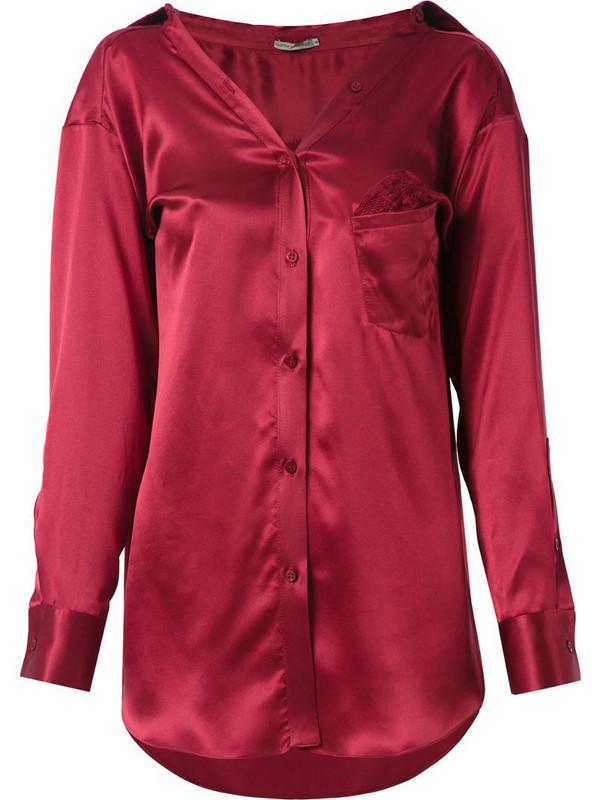 Martha Medeiros Barbara shirt in red