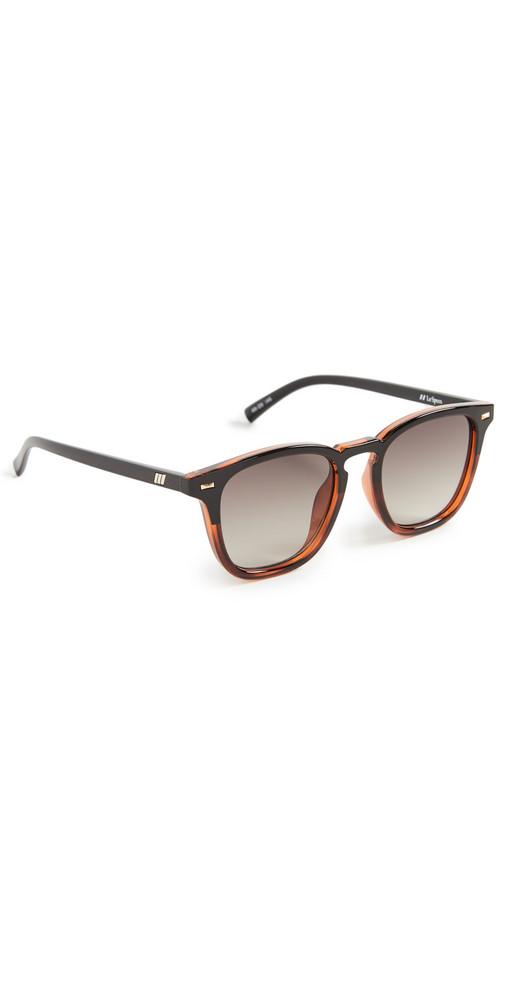 Le Specs No Biggie Sunglasses in black