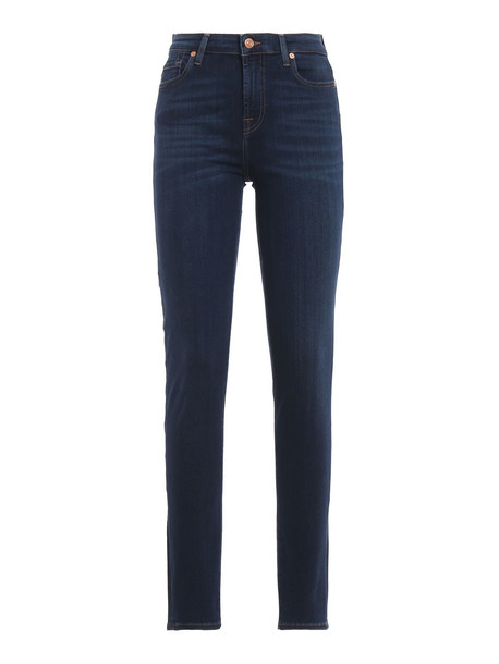 7 For All Mankind Pyper Slim Jeans in blue